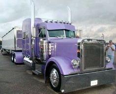 Peterbilt custom 379 with  Grain trailer