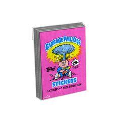 Garbage Pail Kids 1980'sWrapper Art Metal Card Set - # to 99