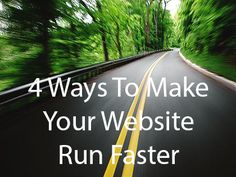 These 4 Tips Could Make Your Website Run Faster: http://blog.eukhost.com/webhosting/these-4-tips-could-make-your-website-run-faster/