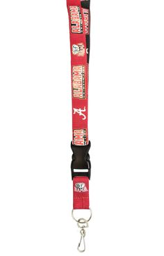 Alabama Crimson Tide Lanyard - Two-Tone