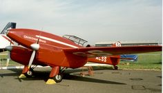 Image result for DH.88 Comet Racer