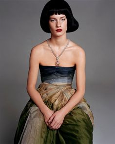 """by Steven Meisel """" People As Many """" Vogue Italia January 2004"""