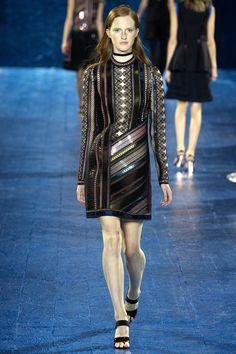 my kind of cool girl mod // Mary Katrantzou Spring 2016 Ready-to-Wear Fashion Show - Magdalena Jasek