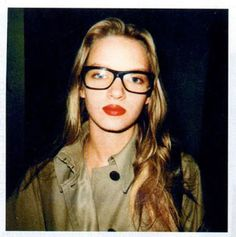 before nerdy glasses were actually in #umathurman