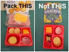 Home made Lunchables