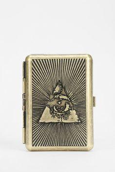 Medusa Tarot Metal Card Case Wallet | Urban Outfitters