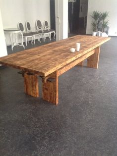 Table RIVERWOOD pine 800-6500 years old FOR SALE office@riverwood.eu