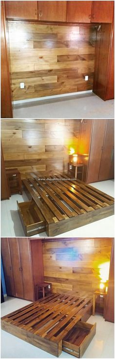 Easy DIY Crafting Ideas Made with Shipping Pallets: Bring up with something sincerely inspiring in your house via the beneficial pleasing use of the wood pallet in your house.