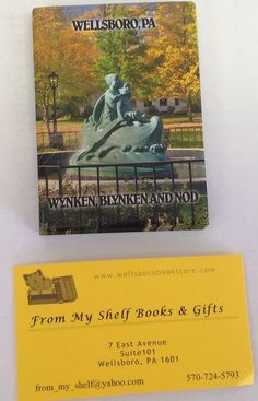 Wynken blynken and Nod Magnet from Wellsboro Pennsylvania