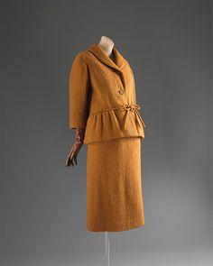 Pierre Cardin  Suit - French ca. 1960 Wool