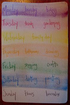 waldorf-daily-rhythm.... a sample of one families daily rhythm following waldorf philosophy.