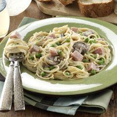 Pretty Ham Primavera Recipe | Taste of Home Recipes This is for Mallory's leftover Easter Ham!!