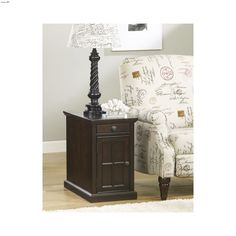 Ashley Power Chair Side Table