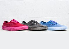 "Vans Authentic ""Overwashed"" Pack"