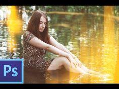 Tutorial Photoshop Cs6: Efecto Fugas de Luz - YouTube