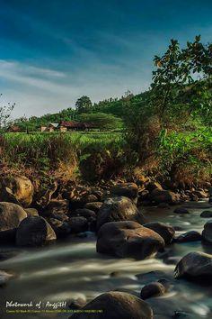 Di sebuah desa di Madiun, Indonesia Beautiful Pictures, Fine Art, River, Landscape, City, Holiday, Photography, Outdoor, Outdoors