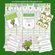 The Lesson Plan Diva: Story Elements Writing Center