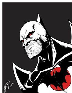 Flashpoint Batman by iKEET7 Follow The Best Comics Artwork Blog on Tumblr