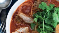 Tomatsuppe med ristet rødfisk | Femina