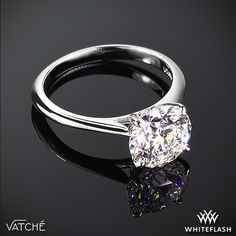 Vatche 'Bliss' Solitaire Engagement Ring.