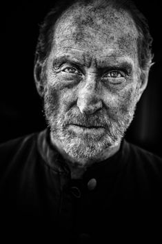A portrait of the actor Charles Dance by Tim Booth. Famous for his many roles in TV and Film, especially in Game of Thrones. Black And White Photography Portraits, Best Portrait Photography, Best Portraits, People Photography, Photography Gear, Tim Booth, Charles Dance, Great Works Of Art, Call For Entry