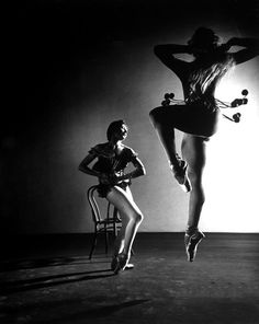Gordon Parks: Ballerinas Renee (Zizi) Jeanmaire Collette Marchand of the Ballet de Paris company. NY, 1949 ☮k☮ Gordon Parks, Gjon Mili, Paris Opera Ballet, Ballet School, Street Dance, Lets Dance, Dance Art, Glamour Photography, Life Magazine
