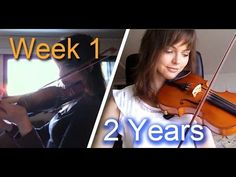 A Beginner Violin Player Shares Two Years of Her Progress in Under Five Minutes