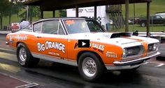 Cool Super Stock Plymouth Barracuda Drag Racing