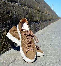 Dressade sneakers från Buttero. Finns på Zgander i Helsingborg.