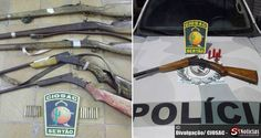 Polícia prende suspeitos de assaltos e armas de fogo | S1 Notícias - A notícia passa primeiro aqui!