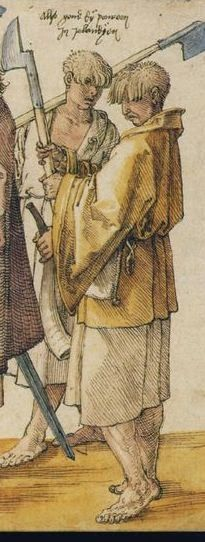 Kern - detail from the 1521 Durer woodcut.