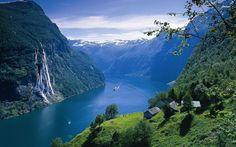 Os intocados fiordes noruegueses
