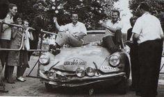 1961 : les vainqueurs, Bianchi-Harris. une course insensée ! 85 voitures au départ, 8 à l'arrivée dont 3 Citroën !