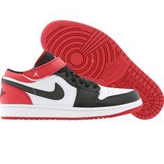 hot sale online 1cc79 91b4a Air Jordan 1 Strap Low Men (white   black   gym red) 574420-101 -  99.99