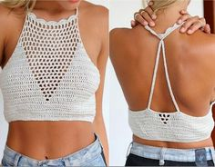 DIY TOP CROCHET OR BRALETTE