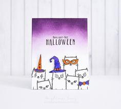 Have a purr-fect Halloween: Halloween card ideas using Purr-Fect Halloween stamp set