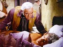 "Pa comforts Little Joe (Bonanza; ""Bushwhacked!"", S13E03, 1971)"