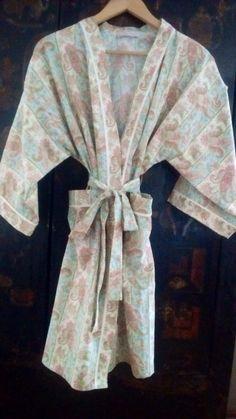 Cotton robes Pamela Alexander Design Contact pamelamec@telus.net