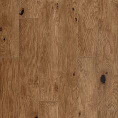 "Mannington Hand Crafted Rustics Hardwood engineered wood flooring- Rock Creek- Fawn (Oak Species) Full Bevel 6 3/4"" Wide"