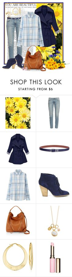 """Untitled #1651"" by cheryl-astablewoman ❤ liked on Polyvore featuring Frame Denim, Lauren Ralph Lauren, Uniqlo, Sole Society, Rebecca Minkoff, BARONI, Ross-Simons, Clarins, OPI and women's clothing"