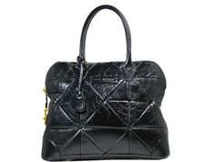 Marc Jacobs - Quilted Leather Handbag - Black
