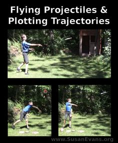 Flying Projectiles & Plotting Trajectories - http://susanevans.org/blog/flying-projectiles-plotting-trajectories/