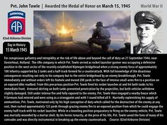 Pvt. John Towle – Awarded the Medal of Honor – 15 March 1945 « C3i Ops Center