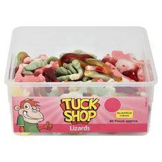 Tuckshop Tubs sweets,Jelly Babies, Lizards,Psycho Rats, Shrimps,Pink Pigs  #TuckShop Penny Sweets, Jelly Babies, Lizards, Shrimp, Food And Drink, Tubs, Pink, Candy, Facebook