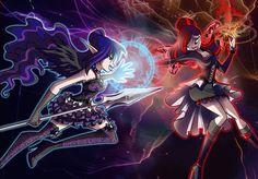 Arela vs Raiyla by fantazyme.deviantart.com on @deviantART