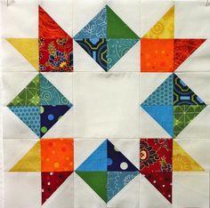 Inverted Quilted Star ; molts models d'estrelles amb instruccions i patrons en aquesta pàgina