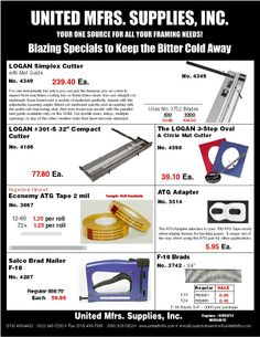"""Winter Specials!!Blazing Specials to Keep The Bitter Cold Away!!    Deals expire on March 03,2013. Use Promo Code """"WBS2013""""    Winter Specials will be available to view on our Website Soon or Check your email if your a subscriber!!"""