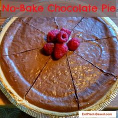 Chocolate Vegan Pie