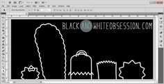 Black and White Obsession: The Silhouette Challenge: Birthday Invitations Homer Simpson Style