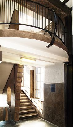 East Stairwell, Mackintosh Building